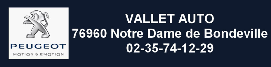 Garage Vallet – Peugeot Notre Dame de Bondeville